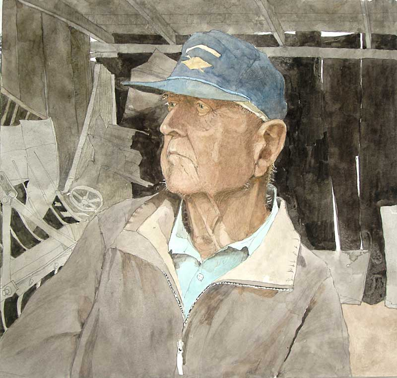 Mr Kuerner Remembers Andrew Wyeth by Eddie Flotte