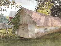 Painting by Eddie Flotte: A Look At Kuerner's Spring House