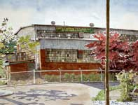Painting by Eddie Flotte: Boiler Erection and Repair