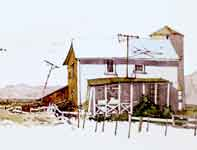 Painting by Eddie Flotte: County Line