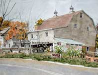 Painting by Eddie Flotte: Simon The Plow Man Spring City