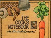 Painting by Eddie Flotte: The Cook's Notebook